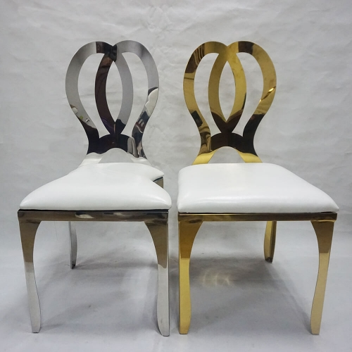 Gold Stainless Chair