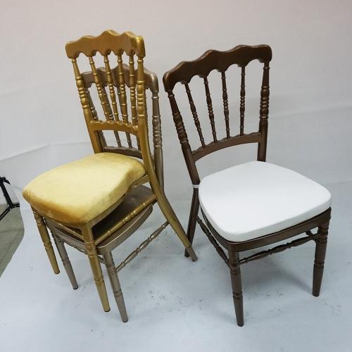 Metal Napoleon Chair