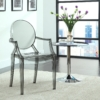 grey acrylic resin armchair