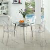 Acrylic Dining Side Chair