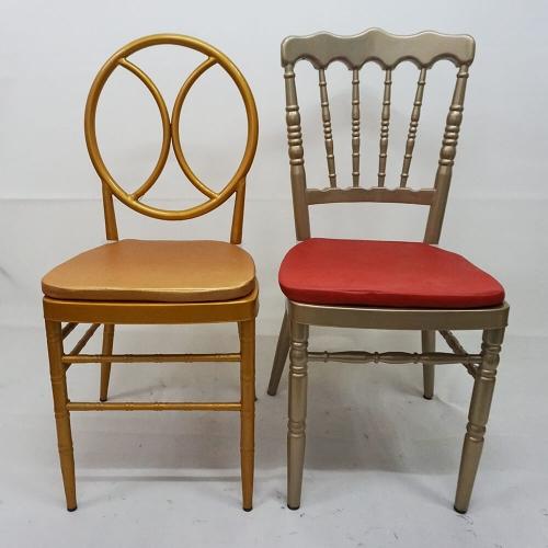 Steel Metal Napoleon Chair