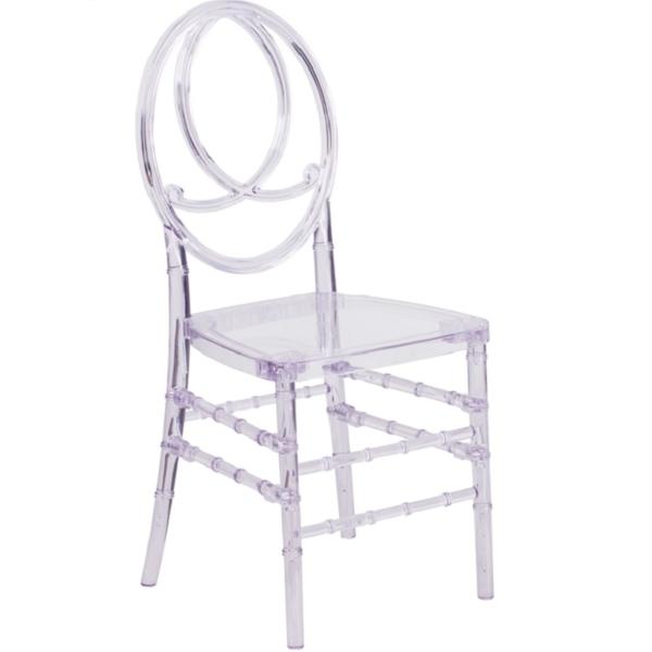 Clear Resin Phoenix Chair