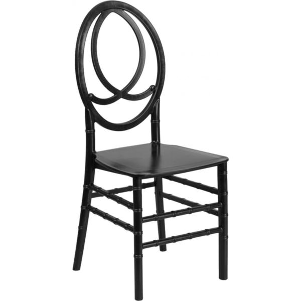 Black Stacking Phoenix Chair