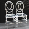 Clear Resin Phoenix Chairs