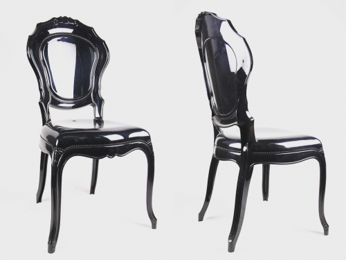 BlackPrincess Armless Chair