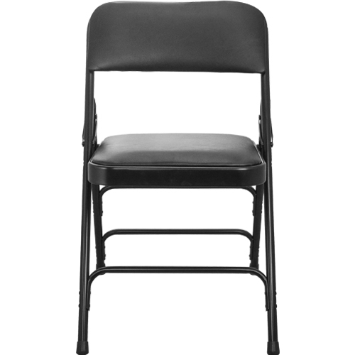 Black Vinyl Padded Folding Chairs