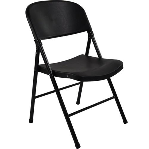 Black Poly Folding Chairs