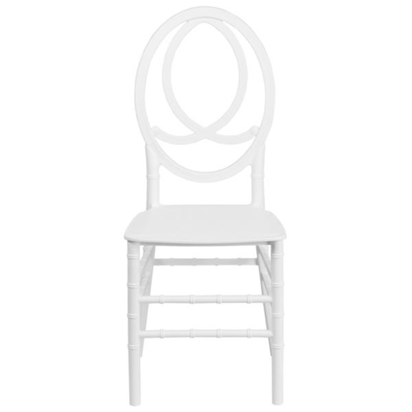 Resin White Phoenix Chair