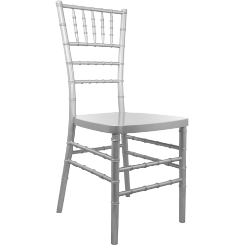 Silver Resin Chiavari Chairs for Sale
