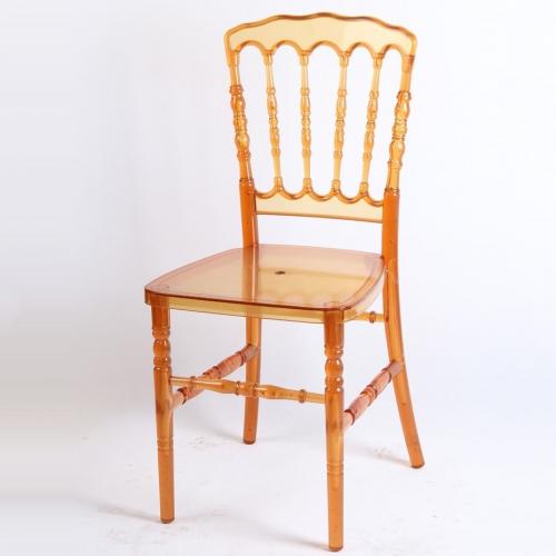 Crystal Resin Napoleon Chair
