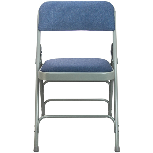 Navy Padded Folding Chairs